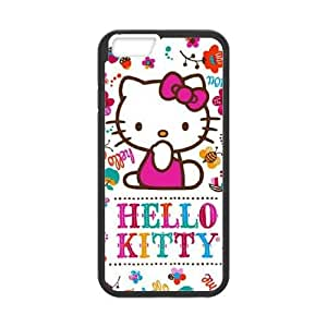 Hello Kitty Smile White iPhone 6 Plus 5.5 Inch Cell Phone Case Black DIY present pjz003_6380828