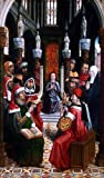 Master catholic Kings Christ among the Doctors - 18'' x 27'' 100% Hand Painted Oil Painting Reproduction