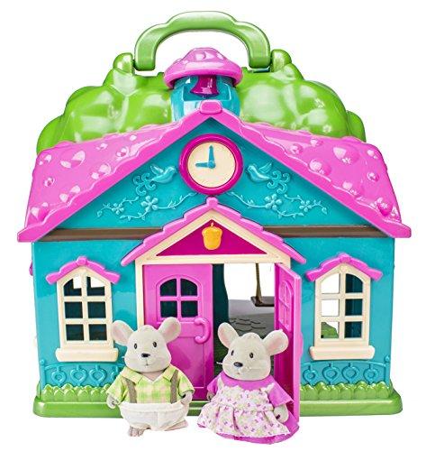Branford Li'l Woodzeez Cottage Playset & Mice Family Set ...