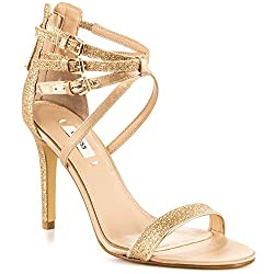 Guess Footwear Laellaly 2 - Gold Multi Texture