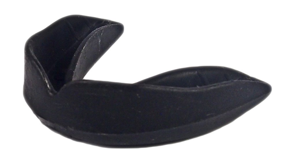 100 Pack! SafeTGard Youth Form Fit Mouthguard without Strap (Black) by Safe-T-Gard