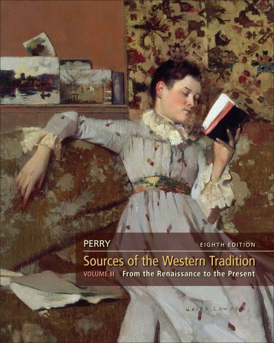 Sources of the Western Tradition by Perry, Marvin. (Cengage Learning,2011) [Paperback] 8th Edition (Western Tradition Marvin Perry)