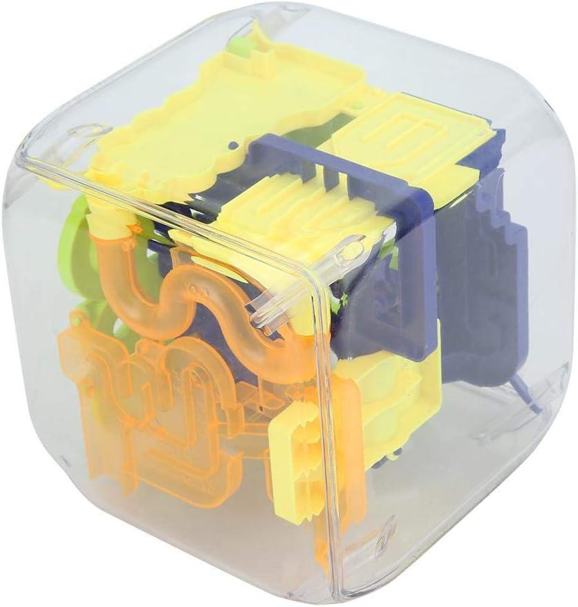 Tnfeeon Juguete desafiante de desafío para la Mente, Kids Intelligence 3D Juguete de Bola de Laberinto con 88 obstáculos Competición para niños(Caja de Embalaje): Amazon.es: Juguetes y juegos