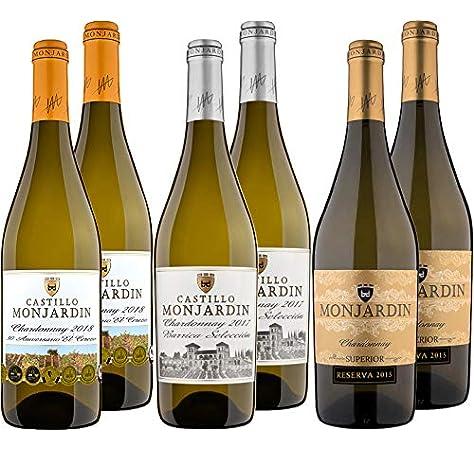 Castillo Monjardín - Colección Chardonnays - Colección 6 bot.: Amazon.es: Alimentación y bebidas