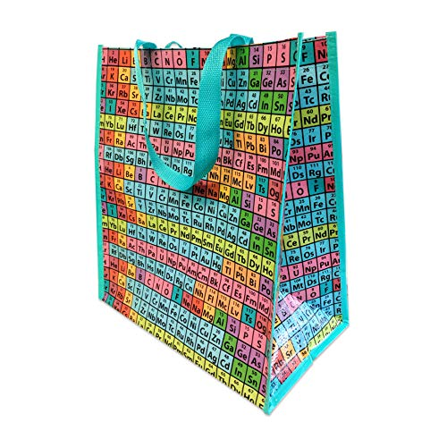 (Rainbow Periodic Table of Elements Reusable Tote Bag, pack/10)