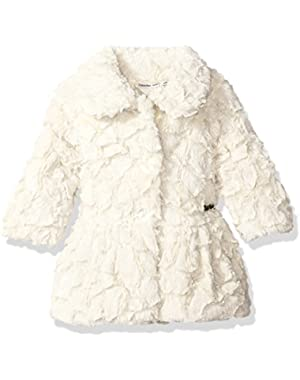 Baby Girls' Faux Fur Jacket