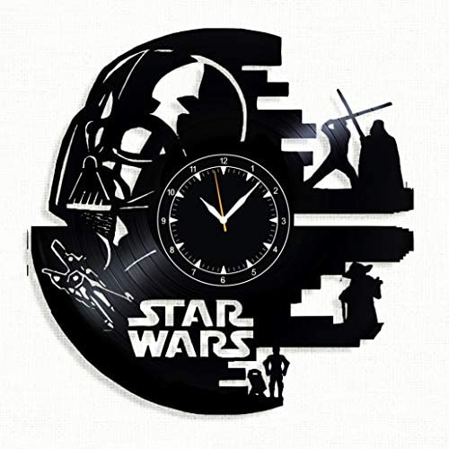 SofiClock STAR WARS Vinyl Record Wall Clock 12 , The Best Gift for Decor D A