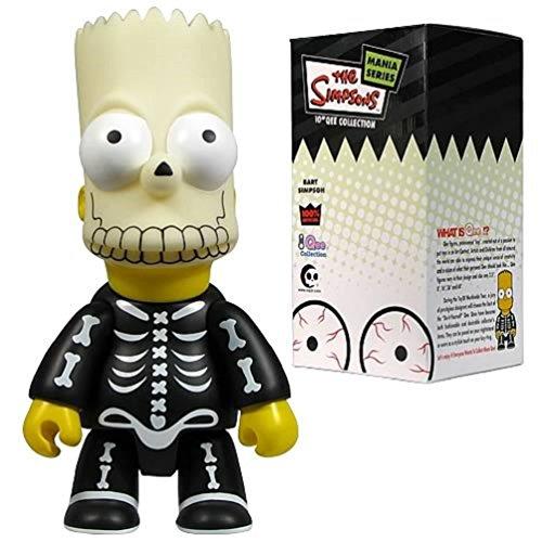 Bart Simpson Halloween Costume (Bart Simpson: Bart Bone Skeleton Mask 2 10