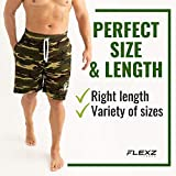 FlexzFitness Comfortable Gym Shorts for Men