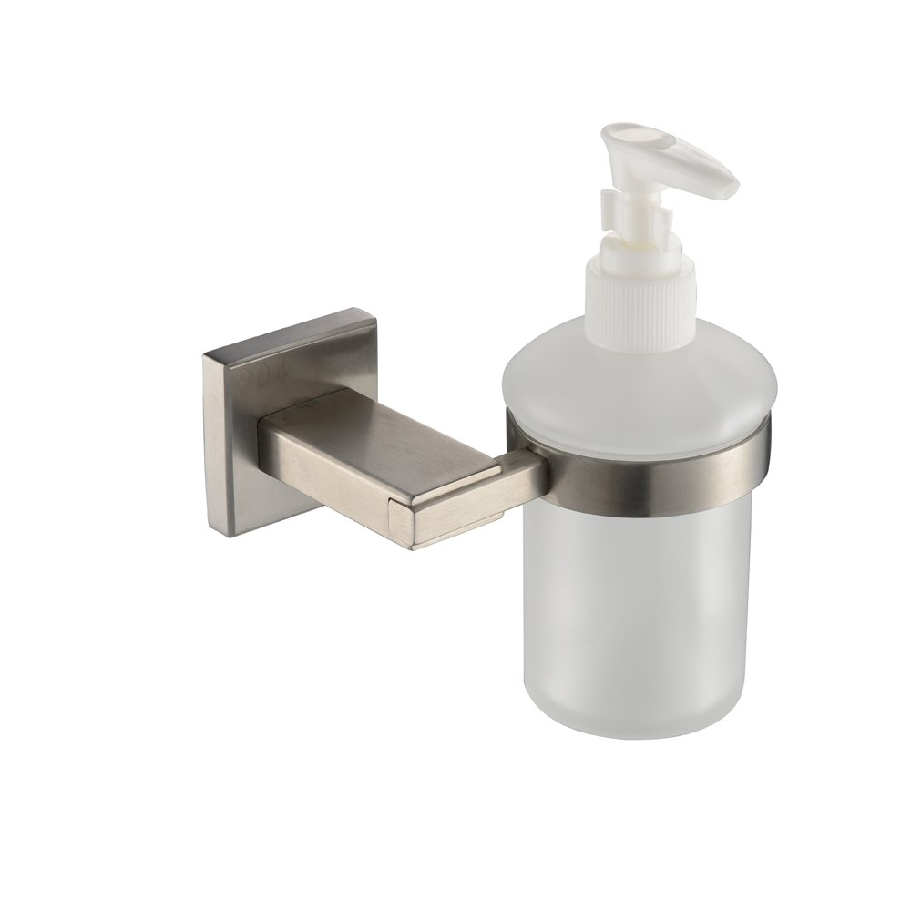 KES Bathroom Toilet Brush with Holder Wall Mount, SUS304 Stainless Steel Holder Brushed Finish, A2430-2 KES Home SYNCHKG064091