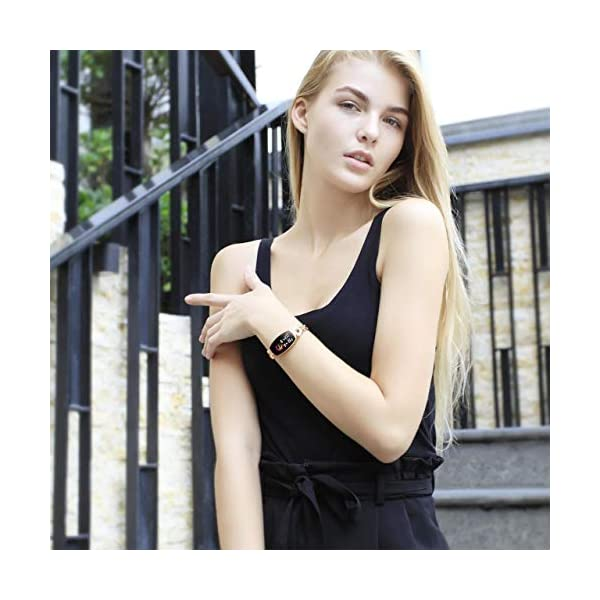 51HrKJI1hfL Gadgets Appliances Gadgets Appliances Female's Smart Watch, Exquisite Fitness Tracker, Blood Pressure/Heart Rate/Sleep…