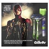 Gillette Sensor3 Disposable Razor Justice League Shave Gift Pack