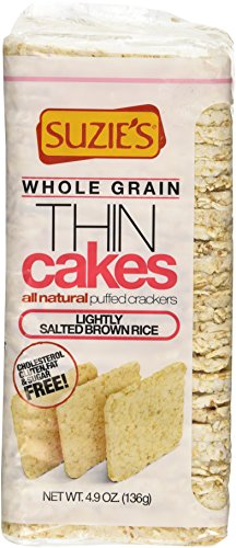 (Suzie's - Whole Grain Thin Cakes Lightly Salted Brown Rice - 4.9 oz.)