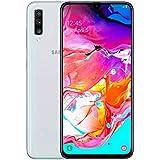 "Smartphone Samsung Galaxy A70 128GB 6.7"" 6GB RAM Câmera Traseira Tripla 32MP 5MP 8MP Branco"