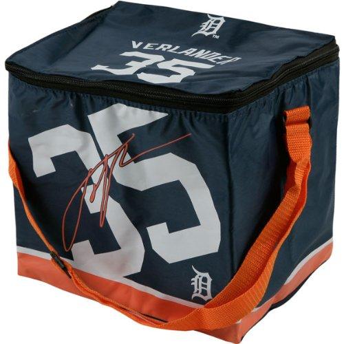 Box Tigers Lunch Detroit (DETROIT TIGERS VERLANDER J. #35 BIG LOGO 12 PACK COOLER)