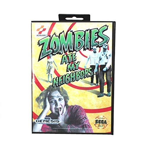 - Value★Smart★Toys - Zombie Ate My Neighbors Boxed Version 16bit MD Game Card for Sega Mega Drive and Genesis