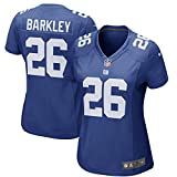 Nike Women's Large Saquon Barkley New York Giants Game Jersey - Royal Blue