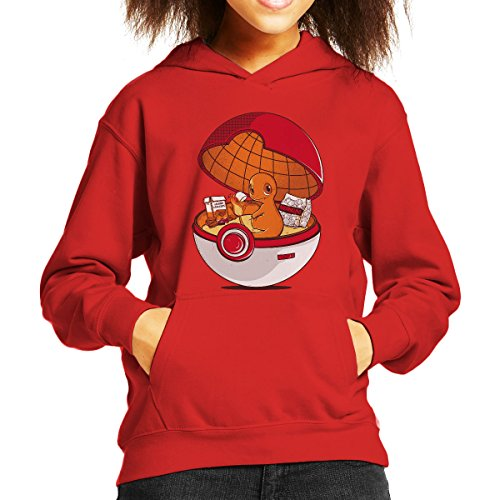 Red-Pokehouse-Charmander-Pokemon-Kids-Hooded-Sweatshirt