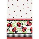 "Ladybug Party Plastic Tablecloth 84"" x 54"""