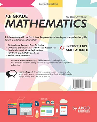 Amazon com: 7th Grade Common Core Math: Daily Practice
