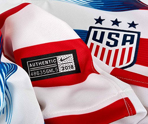 Nike Jersey White red Usa Womens 2018 Home Stadium blue 19 qqwvpPR
