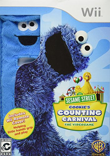 Sesame Street: Cookie's Counting Carnival - Nintendo (Cookie Monster Pattern Game)