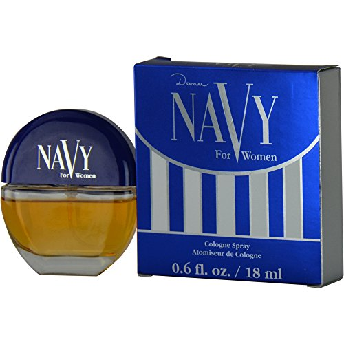 Navy By DANA FOR WOMEN 0.6 oz Cologne Spray ()