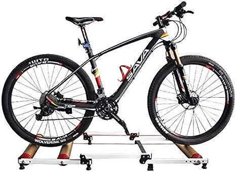 JSBVM Soporte para Bicicleta Aluminio Rodillo de Bicicleta ...