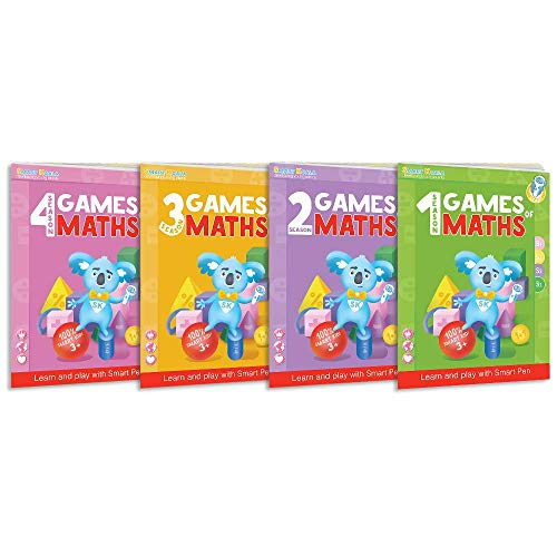 Talking Pen + 4 Books Games of Math (Super Bundle). The Most Entertaining Way to Learn Math! The Pen Supports English and Other International Languages. Fun Games and Tasks Inside! by Smart Koala (Image #4)