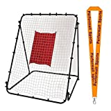 Champion Sports Throw & Field Trainer Black with 1 Performall Lanyard PT6144-1P
