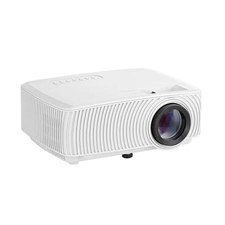 Rwdacfs Proyector pequeño HD TV móvil Cine en casa: Amazon ...