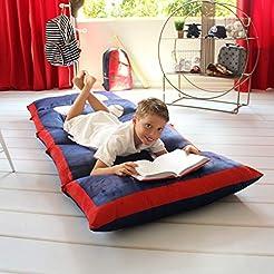 Butterfly Craze Kid's Floor Pillow Bed C...