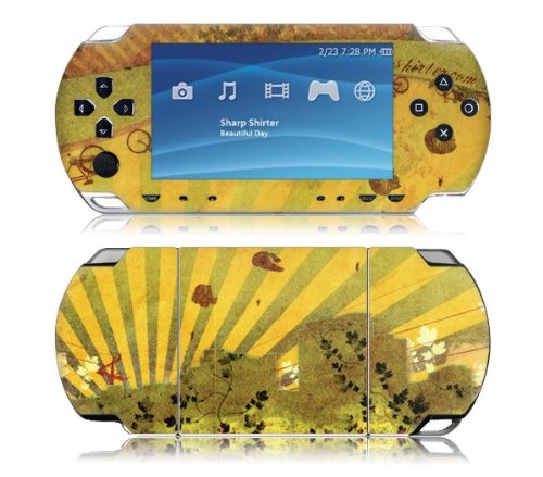 Zing Revolution MS-SHRP10014 Sony PSP Slim- Sharp Shirter- Beautiful Day Skin