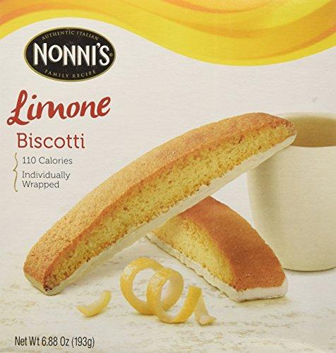 Nonni's Biscotti Limone 6.88 oz 2 Pack