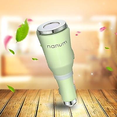 Eocean Car Humidifier, 4 in 1 Car Aroma Essential Oil Diffuser, Car Air Purify, Car Aroma Diffuser