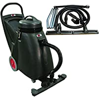 Viper Cleaning Equipment SN18WD  Shovelnose 18 gal Wet/Dry Vacuum, 24 Cleaning Path, 2 10 Non-Marking Wheels, 50 Power Cable, 2 Stage Vacuum Motor, 9 Vacuum Hose