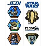 : Star Wars: The Clone Wars Tattoos Party Accessory (2 sheets)