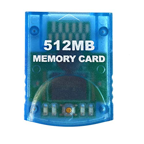 Aoyoho 512MB Gaming Memory Card Compatible Wii and Gamecube (Best Memory Card For Wii)