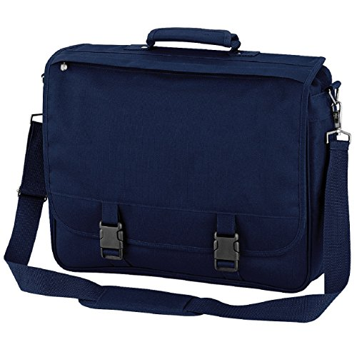 Negro Portfolio Azul Negro maletín Marino Quadra pxgUwqw
