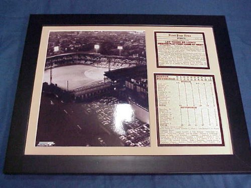 11x14 Framed & Matted Forbes Field 1st Night Game 1940 Pittsburgh Pirates 8X10 PHOTO - Field Forbes Baseball