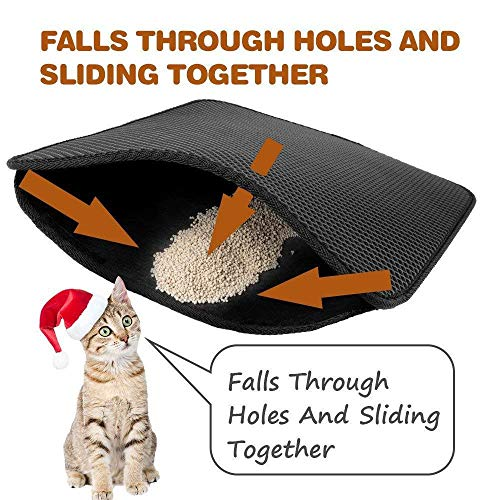 Amazon.com: Kapong - Alfombrilla para gatos con diseño de ...