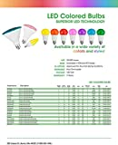 TCP 90 Watt Equivalent Single-Pack, LED PAR38 Yellow Flood Light Bulb (Bug Light), Non-Dimmable RLP3814Y