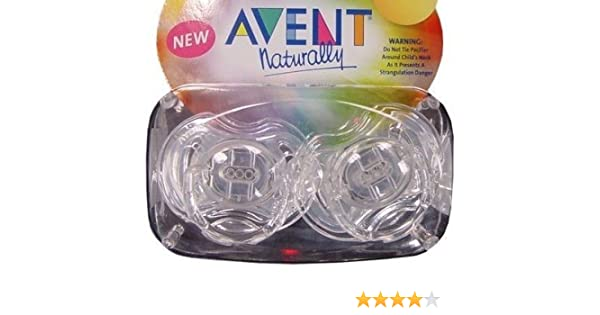 Philips Avent BPA Free Translucent Pacifier, 3-6 Months - clear