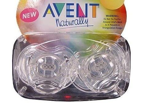 Philips AVENT libre de BPA translúcido Chupete, 3 - 6 meses, color ...