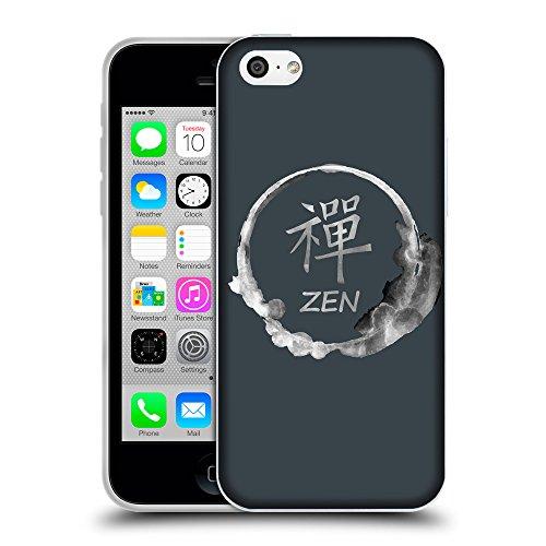 GoGoMobile Coque de Protection TPU Silicone Case pour // Q09160606 Bouddha 34 Arsenic // Apple iPhone 5C