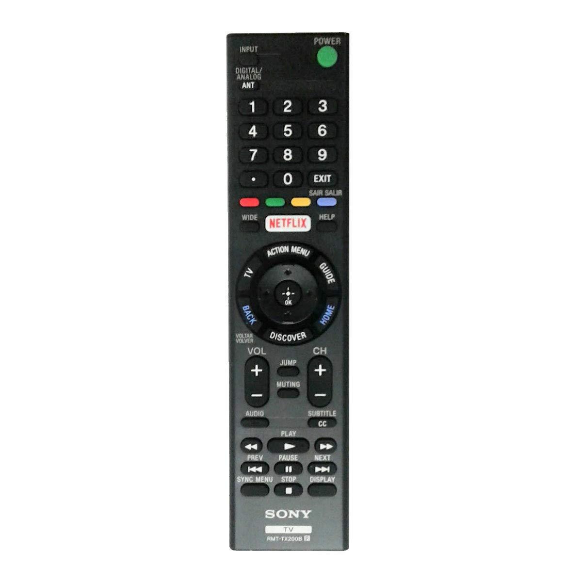 Control Remoto original sony XBR49X705D XBR49X707D
