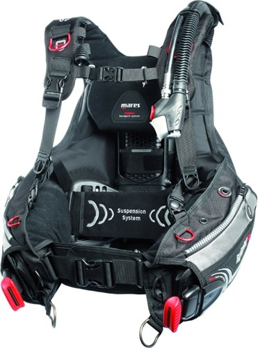 Mares Scuba Diving Buoyancy Control Device Hybrid AT with MRS + (Buoyancy Control)
