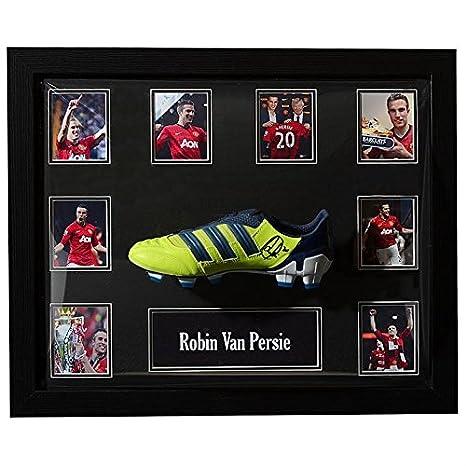 Team Manchester United Robin Van Persie Firmato Scarpe da