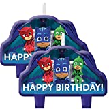 Amscan PJ Masks Birthday Cake Candles - 8 - Best Reviews Guide