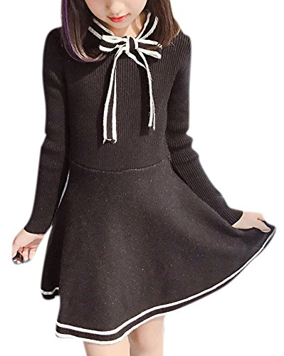 Pleated Bow Front Dress - 3